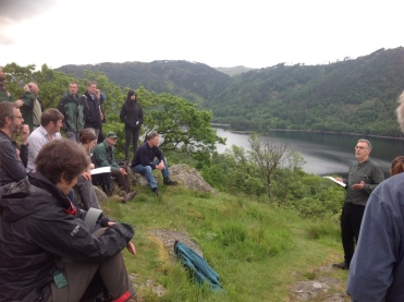 At Thirlmere forest there was talk regarding the necessity of developing permanent forests for water quality issues (and a recent outbreak of Phytophthora affecting larch); The transition to a changed management for this watershed had taken time to be accepted by the local community but people are now realising the tourism, soil stability in the surrounding hills and biodiversity benefits.
