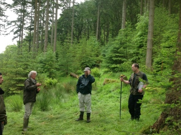 Phil and his group showed us how the measurements are undertaken at AFI sites