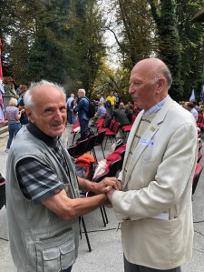 Founding Members Bela Varga and Hubert Dolinsek met again after 30 years. Bela, from Pro Silva Hungary, will be known to many Irish members for his enthusiasm and advice for Close-to-Nature forestry to develop in Ireland.